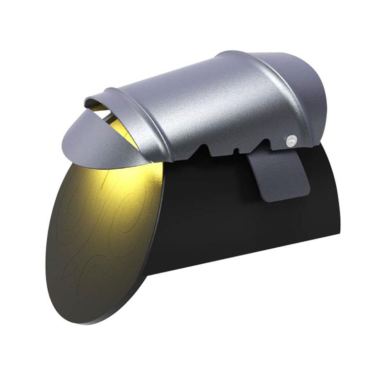 Corrugated lamp-A128